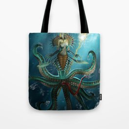 Deep Fear Tote Bag