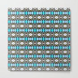 Double Crochet OG Pattern Metal Print