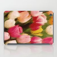 tulips iPad Cases featuring *Tulips* by Mr and Mrs Quirynen
