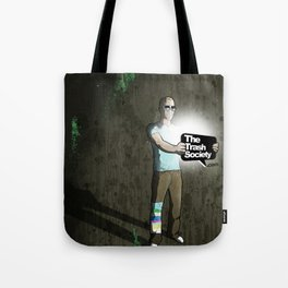 The Trash Society artwork Tote Bag