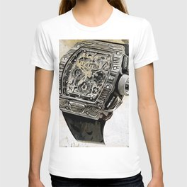 Richard Mille 1103 Flyback Chrono Watch T-shirt