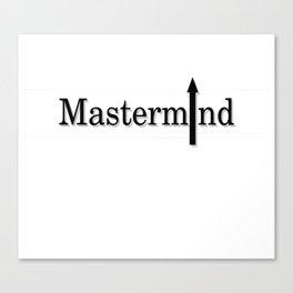 Mastermind Canvas Print