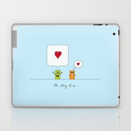 The Story Of Us Laptop & iPad Skin