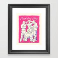 Bachstreet Boys Framed Art Print