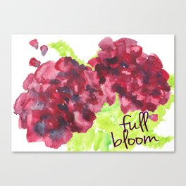 Fresh Blooms Canvas Print