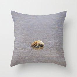 Seashell II Throw Pillow