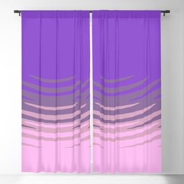 Manan pink purple Blackout Curtain