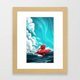 Porco Rosso Framed Art Print