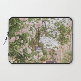 Roses Bloom in the Village Laptop Sleeve