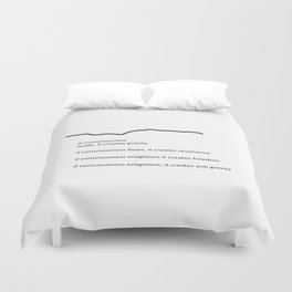 If Consciousness Holds Duvet Cover