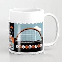 city Mugs featuring Amsterdam by koivo