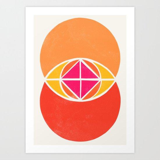 Vesica Piscis 3 Art Print