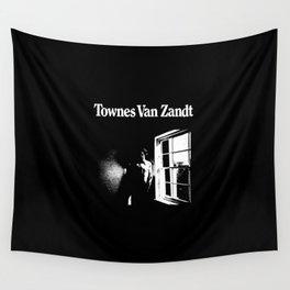 Townes Van Zandt Wall Tapestry