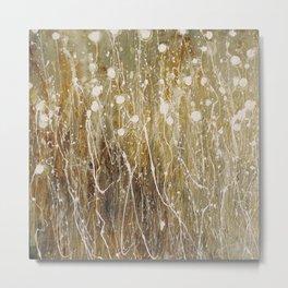 floral abstrakt Metal Print