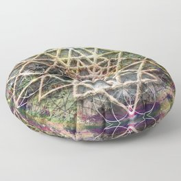 sri yantra Floor Pillow