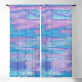 Oceans and Sky Blackout Curtain