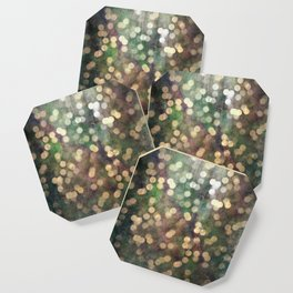 Magical Lights Gold Dots Coaster