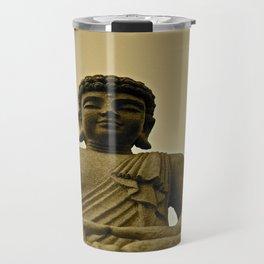 Buddha Prays Travel Mug