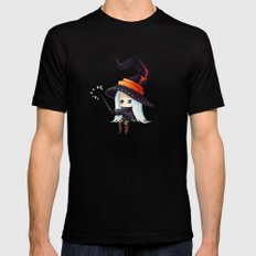 Bubbles MEDIUM Black Mens Fitted Tee
