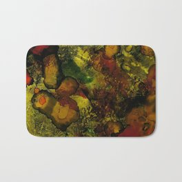 Abalone | Alcohol Ink Abstract Bath Mat