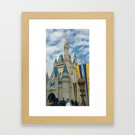 Cinderella's Home Framed Art Print