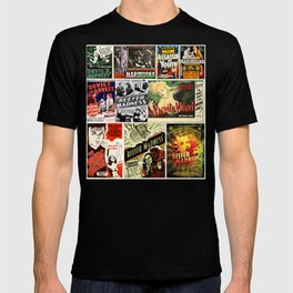 1930s Propaganda - Reefer madness poster collage T-shirt