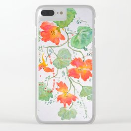 Summer beauty Clear iPhone Case