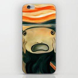 The Scream iPhone Skin