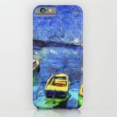 Boats and Sea Impressionist Art iPhone 6s Slim Case
