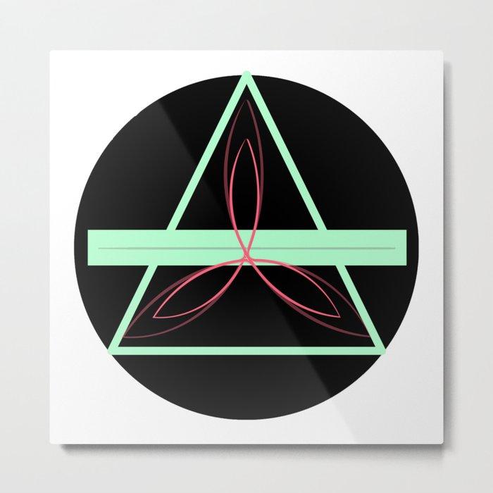 Trinity Knot Metal Print