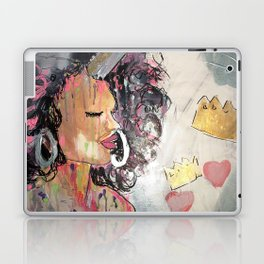 Black Unicorn: Sugar Oompa Loompa Laptop & iPad Skin
