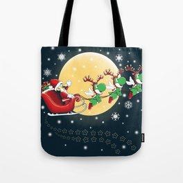 Super Mario Claus Tote Bag