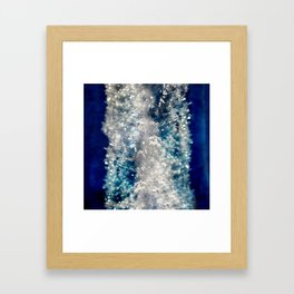 Frozen Beauty Framed Art Print