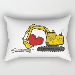 Heart Digger Rectangular Pillow