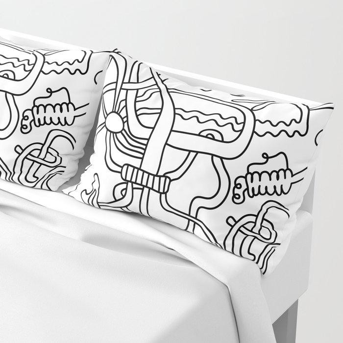 pipes machine  (19-2-19) Pillow Sham