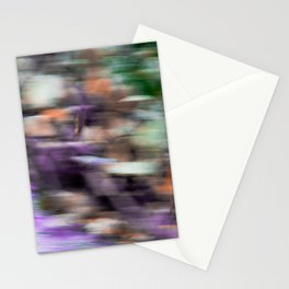 Fast in Flight - A Colorful Abstract Motion Blur Stationery Cards