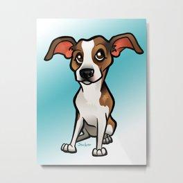 Miso (Beagle) Metal Print