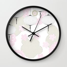 Chinese pattern Wall Clock