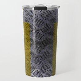 Industrial Arrow Tread Plate - Up Travel Mug
