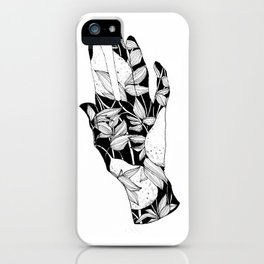 Hands together iPhone Case