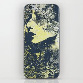 Third Stone From The Sun II   graffiti female portrait iPhone Skin