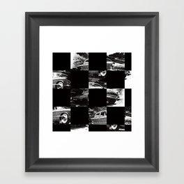 pattern car Framed Art Print