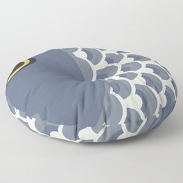 Koinobori | Grey Floor Pillow