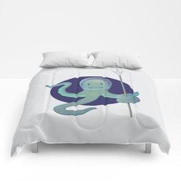Lil Alien - Squiddy  Comforters