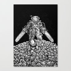 Texas Chainsaw Astronaut: New Moon Canvas Print