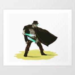 Robo-Western Art Print