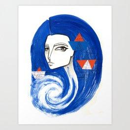Sou Mar Art Print