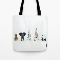 ANIMALS BACKS Tote Bag