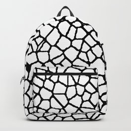 staklo (white with black) Backpack