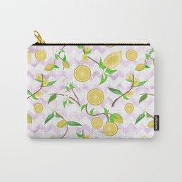 Lemon Drop Pattern Carry-All Pouch